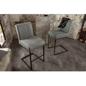 ASTON design bárszék - antik szürke Ülőbútor