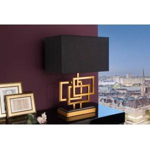 LEONOR design asztali lámpa - arany - 56cm Asztali lámpák