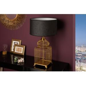 CAGE design asztali lámpa - arany - 68cm Asztali lámpák