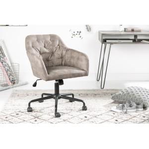 MATCH - design forgószék - taupe Irodai székek