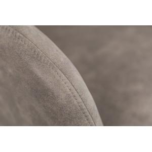 MATCH - design forgószék - taupe
