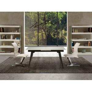 ROCIO modern üveg étkezőasztal - 160-200cm Étkezőasztalok