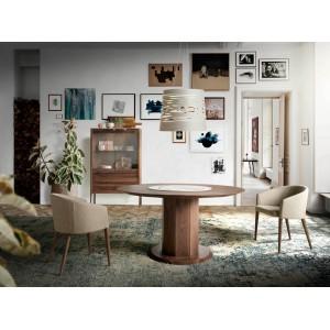 ROTUNDO -II design kerek étkezőasztal - 120cm Étkezőasztalok