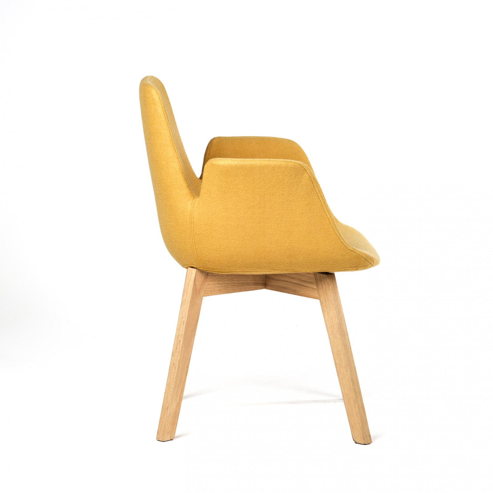 CRUZO design szék sárgaszürkefeketetürkiz