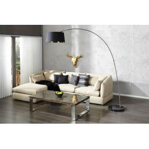 SAPPHIRE - design állólámpa - fekete / arany Állólámpák