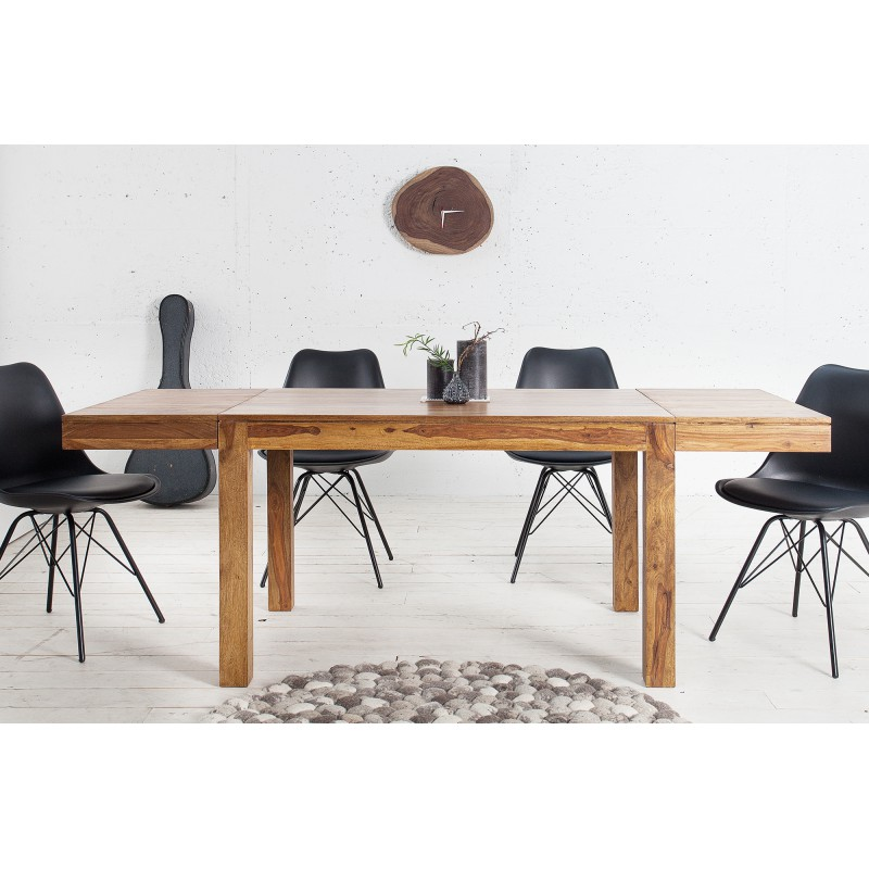 LAGOS tömör rózsafa étkezőasztal - 120-200cm