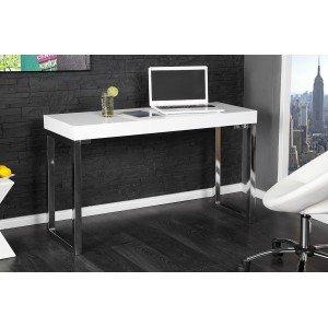 CONNIE modern íróasztal- fehér Íróasztalok