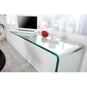 LIZO üveg íróasztal/konzolasztal 100cm Íróasztalok