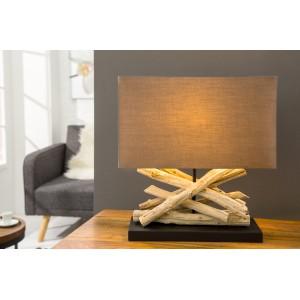 LIFE - asztali lámpa - barna Asztali lámpák