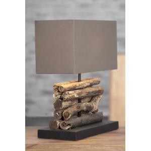 SHORE - asztali lámpa - barna Asztali lámpák