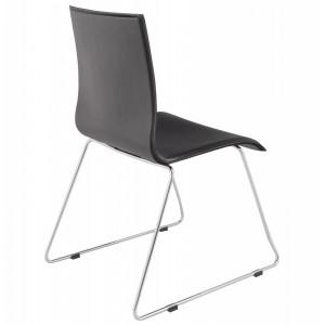 DONNA design szék - fekete Karfa nélkül KD