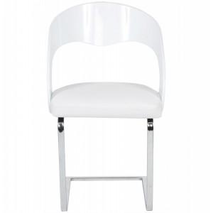 ELOGIO design szék - fehér Karfával