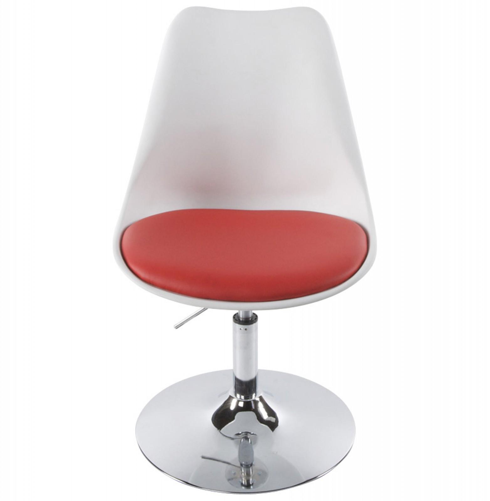TULIP szék fehérpiros