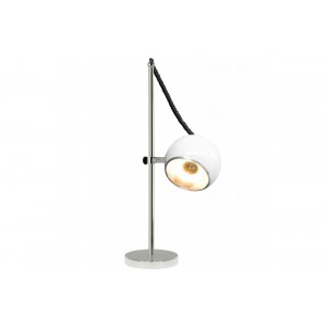 BALL - retro asztali lámpa - fehér Asztali lámpák KD