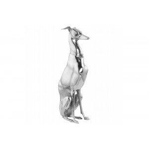 DOG alumínium szobor Dekoráció
