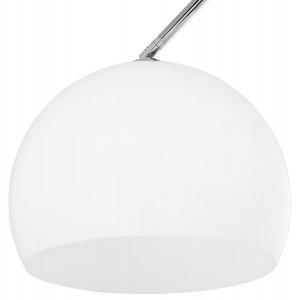 BIG BOW II - design állólámpa - fehér Állólámpák KD