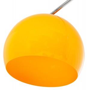 BIG BOW II XL - design állólámpa - sárga Állólámpák KD