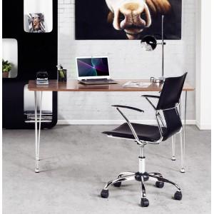 BALL - retro asztali lámpa - fekete