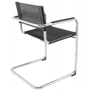 LEWIS design irodai szék - fekete Irodai székek