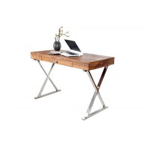 GRACE tömör rózsafa íróasztal Íróasztalok