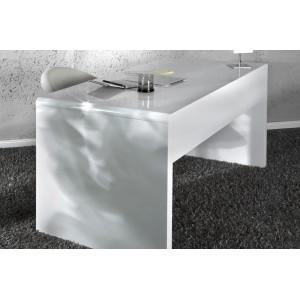 FAST TRADE modern íróasztal 120 cm - fehér Íróasztalok