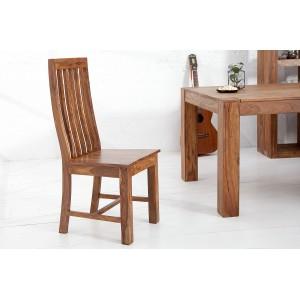 MAKASSAR NATUR tömör rózsafa design szék Karfa nélkül