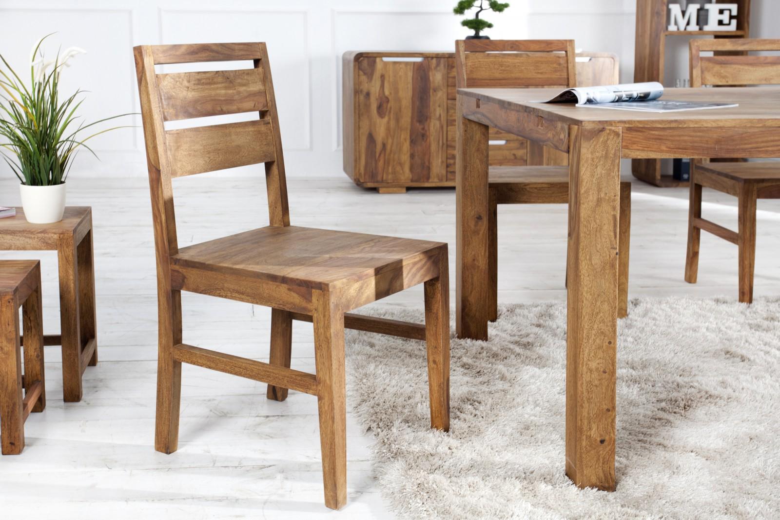 LAGOS tömör rózsafa szék
