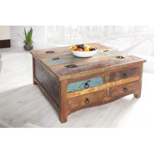 JAKARTA BOX tömörfa dohányzóasztal Dohányzóasztalok