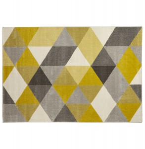 METRIC design szőnyeg  - sárga Kokoon Design KD