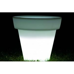 MIRAGE short - világító kaspó Világító bútorok
