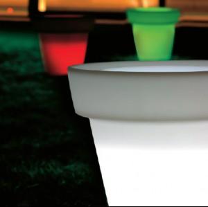 MIRAGE medium - világító kaspó Világító bútorok