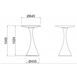 NANA - világító asztal Világító bútorok