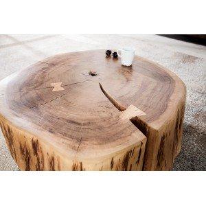 FOREST tömör akácfa dohányzóasztal Dohányzóasztalok