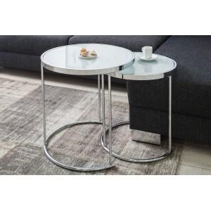 ARTDECO II króm - dohányzóasztal Dohányzóasztalok