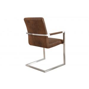 IMPERIAL II modern szék - antik coffee Karfával