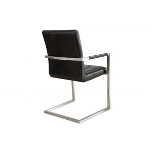 IMPERIAL II modern szék - antik fekete Karfával