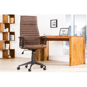 LAZIO II design irodai szék - vintage barna Irodai székek