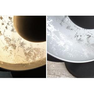 STUDIO asztali lámpa - fekete/ezüst Asztali lámpák