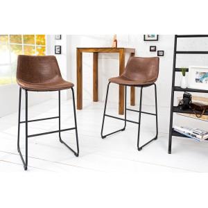 DJANGO modern bárszék- barna Ülőbútor