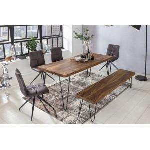 JAIPUR tömör rózsafa étkezőasztal Étkezőasztalok