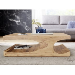 GOA tömör akácfa dohányzóasztal Dohányzóasztalok