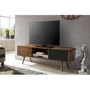 REPA II tömör rózsafa  TV állvány - antracit TV szekrények