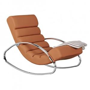 REFRESH luxus fotel- barna Ülőbútor