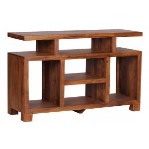 COLOMBO tömör rózsafa konzolasztal Asztal