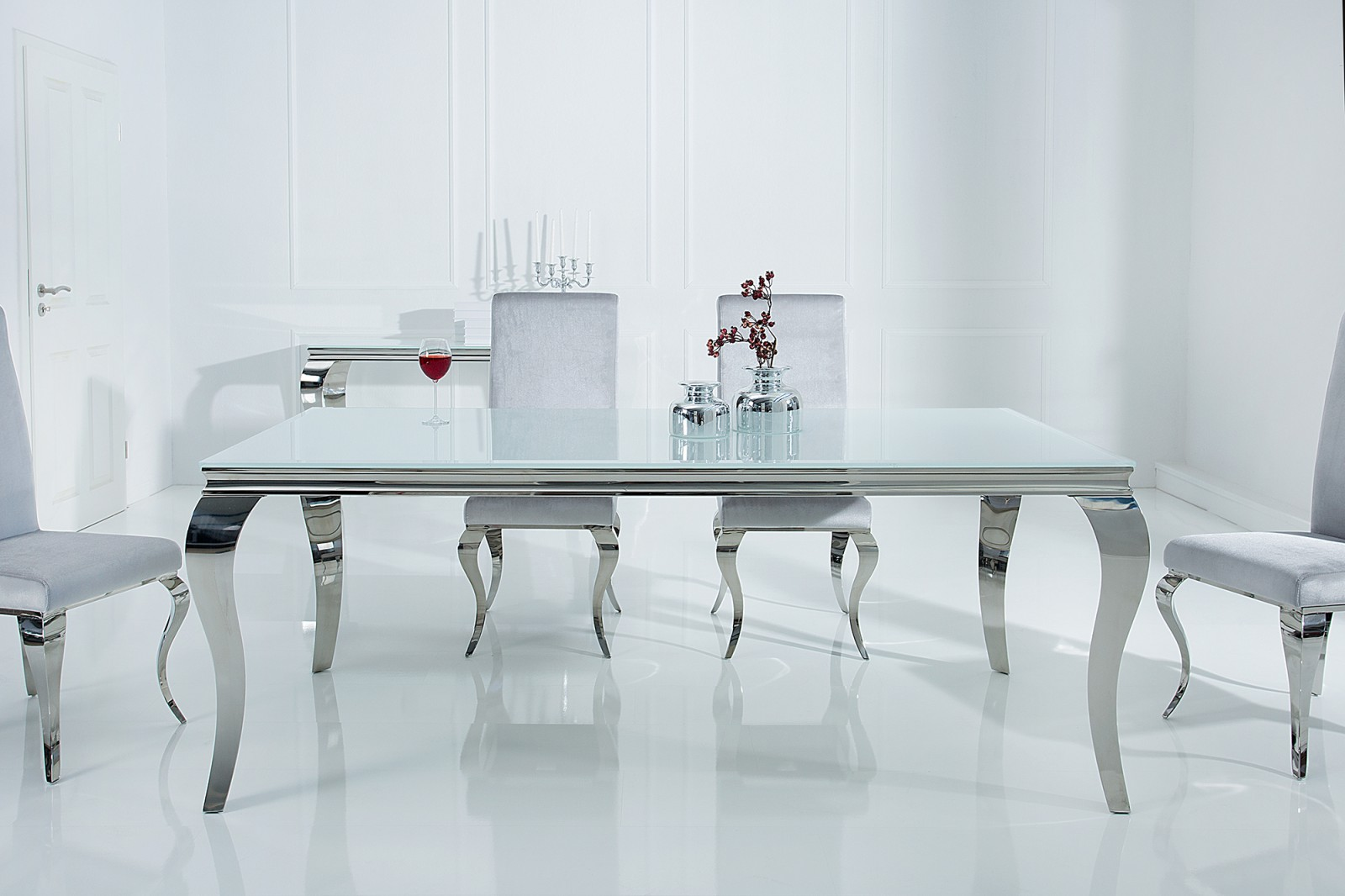 modern barock tkez asztal. Black Bedroom Furniture Sets. Home Design Ideas