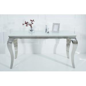 MODERN BAROCK konzolasztal  - ezüst Asztal