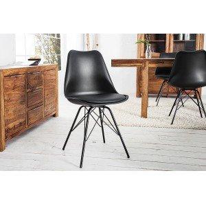 BIOS modern szék - fekete Karfa nélkül