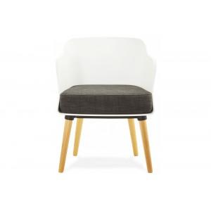 MYSIK design fotel - fehér/szürke Ülőbútor