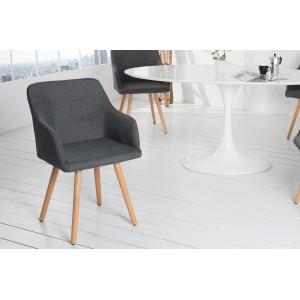 BERGEN modern szék - antracit Karfával