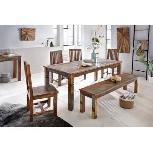 INDONESE design étkezőasztal 120/180cm Étkezőasztalok